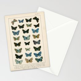 British and European Butterflies and Moths' Stationery Cards