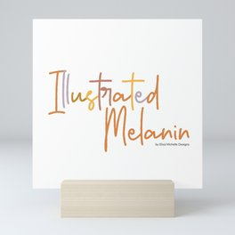 Illustrated Melanin Mini Art Print