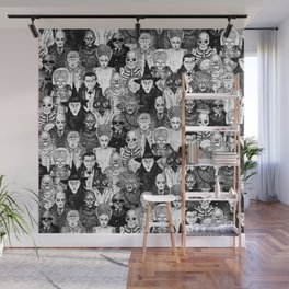Horror Film Monsters Wall Mural