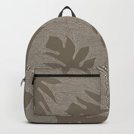 'Ulu Pierced Dark Taupe Backpack