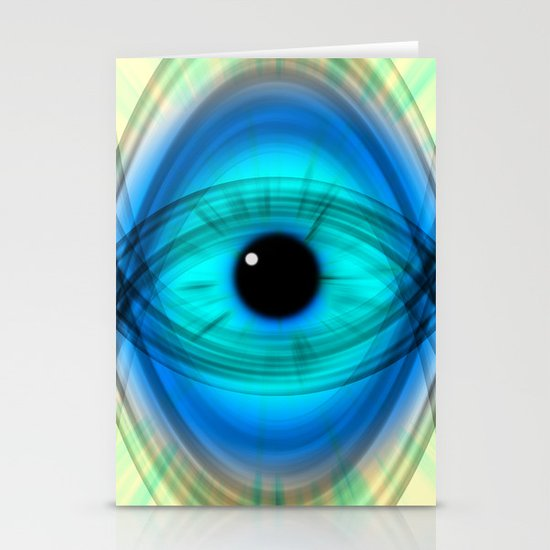 Eye abstract Stationery Cards