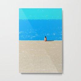beach-1 Metal Print