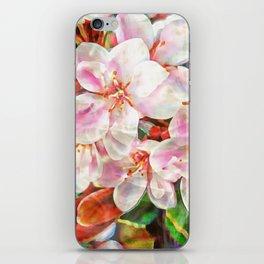 April flowers iPhone Skin