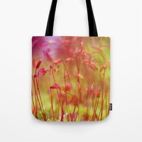 moss Tote Bags featuring Moss by LoRo  Art & Pictures