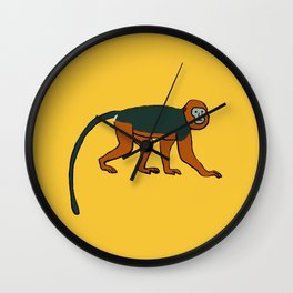 The Intelligent Monkey Wall Clock