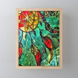 Dream Catcher Framed Mini Art Print