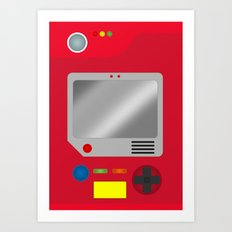 Pokedex Art Print