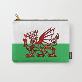 Welsh Dragon Knot Carry-All Pouch