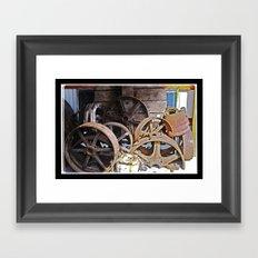 IronWheels Framed Art Print