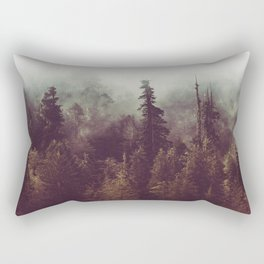 Weekend Escape - Forest Nature Photography Rectangular Pillow