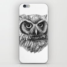 Intense Owl G137 iPhone & iPod Skin