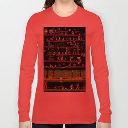 50 Classic Video Games Long Sleeve T-shirt