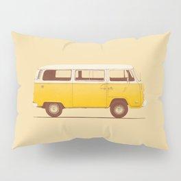 Van - Yellow Pillow Sham