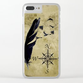 As the Crow Flies A677 Clear iPhone Case