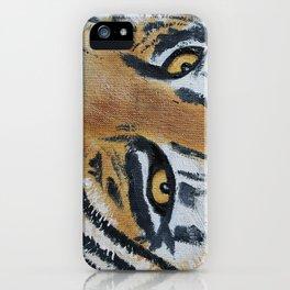 Tiger Eyes 2 iPhone Case