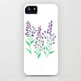 Purple Delphinium iPhone Case