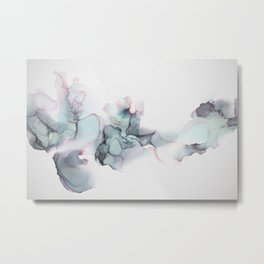 Abstract Alcohol Ink 6248 Metal Print
