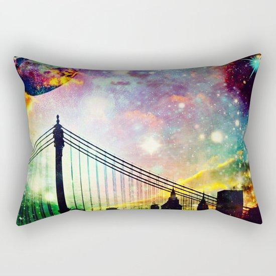 Galaxy Bridge Rectangular Pillow