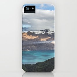 The island cloud ocean iPhone Case
