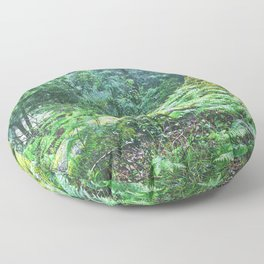 The Nature's green Floor Pillow