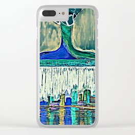 Paint the Town Clear iPhone Case