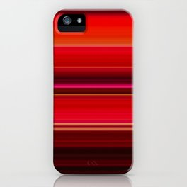 Red Leaf Plant iPhone Case