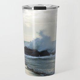 Fiumicino beach Travel Mug
