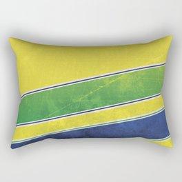 Ayrton Senna - I have no idols Rectangular Pillow