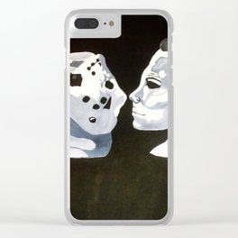 Vorhees Vs. Meyers Clear iPhone Case