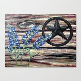 Blue Bonnets Canvas Print