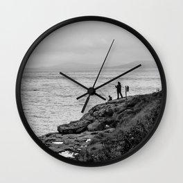 Fishing the Irish Coast Wall Clock