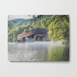 French Jura River - Landscape Photography Metal Print