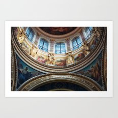 St. Isaac's Cathedral Art Print