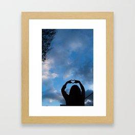 Love Thee Framed Art Print