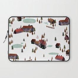 cold village Laptop Sleeve