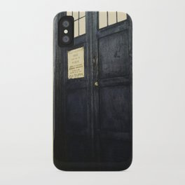 Doctor Who: Time and Relative Dimension in Space iPhone Case