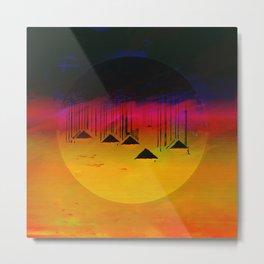 Pink Horizon / Archipelago 24-01-17 Metal Print