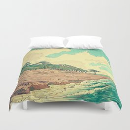Arriving at Fenzhuo Duvet Cover
