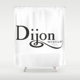 DIJON MUSTARD - taste for fashion Shower Curtain
