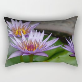 Nymphaea 'Rhonda Kay' VI Rectangular Pillow