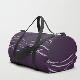 Purple Glow Electric Duffle Bag