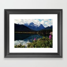 canadian wilderness Framed Art Print