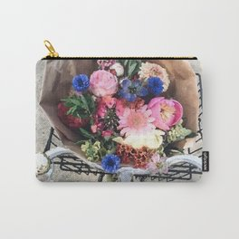 Bike flower Carry-All Pouch