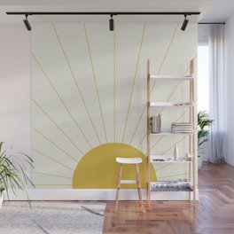 Sunrise / Sunset Minimalism Wall Mural