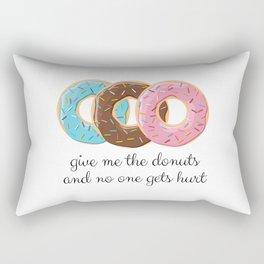 gimme more Rectangular Pillow