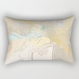 The king´s speech Rectangular Pillow