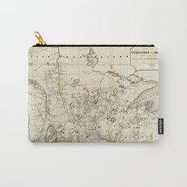 Territory of Minnesota Map (1849) Carry-All Pouch