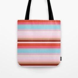 CityStripes Multi Retro Tote Bag
