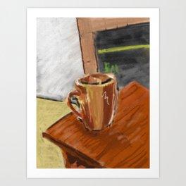Morning Joe Art Print