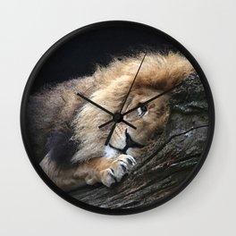 Aqua_Lion_20180102_by_JAMColorsSpecial Wall Clock